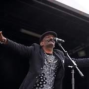 London, UK, 21th August 2016 : Nitish Joganah preforms live at the Mauritian Open Air Festival 2016 at Gunnersbury Park in London,UK. © See Li/PictureCapital