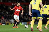Manchester United's Shinji Kagawa in action against Sunderland