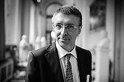 Raffaele Cantone, presidente dell'Autorità Nazionale Anticorruzione, alla Camera dei Deputati. Roma, 14 luglio 2014. Christian Mantuano / OneShot
