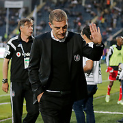 Besiktas's coach Slaven Bilic (C) during their Turkish superleague soccer match Besiktas between Torku Konyaspor at Osmanli Stadium in Ankara Turkey on Monday 18 May 2015. Photo by Aykut AKICI/TURKPIX
