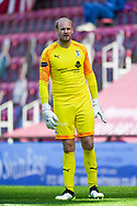 Goalkeeper Mark Ridgers (#1) of Inverness Caledonian Thistle FC during the SPFL Championship match between Heart of Midlothian and Inverness CT at Tynecastle Park, Edinburgh Scotland on 24 April 2021.