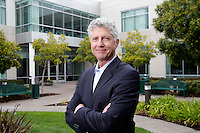5 August 2013: Jes Pedersen CEO, Executive VIce President, Chief Business Officer Webcor Builders on location in Alameda, California.