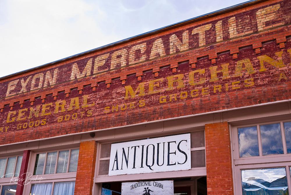Historic Exon Mercantile building, Dolores, Colorado