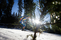 Martin Fourcade (FRA) during Men 15 km Mass Start at day 4 of IBU Biathlon World Cup 2015/16 Pokljuka, on December 20, 2015 in Rudno polje, Pokljuka, Slovenia. Photo by Ziga Zupan / Sportida