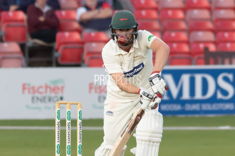 Paul Horton batting during the Specsavers County Champ Div 2 match between Leicestershire County Cricket Club and Lancashire County Cricket Club at the Fischer County Ground, Grace Road, Leicester, United Kingdom on 25 September 2019.