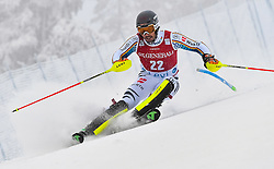 13.11.2016, Black Race Course, Levi, FIN, FIS Weltcup Ski Alpin, Levi, Salalom, Herren, 1. Lauf, im Bild Dominik Stehle (GER) // Dominik Stehle of Germany in action during 1st run of mens Slalom of FIS ski alpine world cup at the Black Race Course in Levi, Finland on 2016/11/13. EXPA Pictures © 2016, PhotoCredit: EXPA/ Nisse Schmidt<br /> <br /> *****ATTENTION - OUT of SWE*****