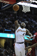 Ben Wallace #4 of Cleveland..The Miami Heat lost to the host Cleveland Cavaliers 84-76 at Quicken Loans Arena, April 13, 2008...