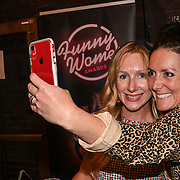 Melon Comedy attended the Red Carpet Funny Women Awards at the Bloomsbury Theatre, London on 23rd September 2021.