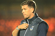 Darrell Clarke during the EFL Sky Bet League 1 match between Rochdale and Bristol Rovers at Spotland, Rochdale, England on 2 October 2018.