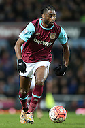 Alex Song of West Ham United in action. The Emirates FA cup, 3rd round match, West Ham Utd v Wolverhampton Wanderers at the Boleyn Ground, Upton Park  in London on Saturday 9th January 2016.<br /> pic by John Patrick Fletcher, Andrew Orchard sports photography.