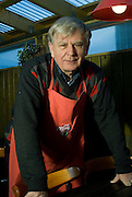 Runar owner of Granda Kaffi,  traditional icelandic restaurant on the Reykjavik harbour. The restaurant opens at 6 in the morning and it has a regular clients of sailors. The food is traditional and at least once a week from the fish catch of the day.