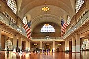 Ellis Island, Great Hall, New York