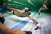 Sports - Under water Hockey