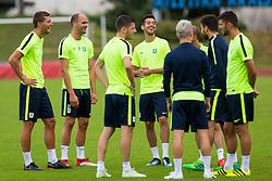 Players during training of NK Olimpija Ljubljana , on June 13, 2018 in Sports park Siska, Ljubljana, Ljubljana, Slovenia. Photo by Ziga Zupan / Sportida