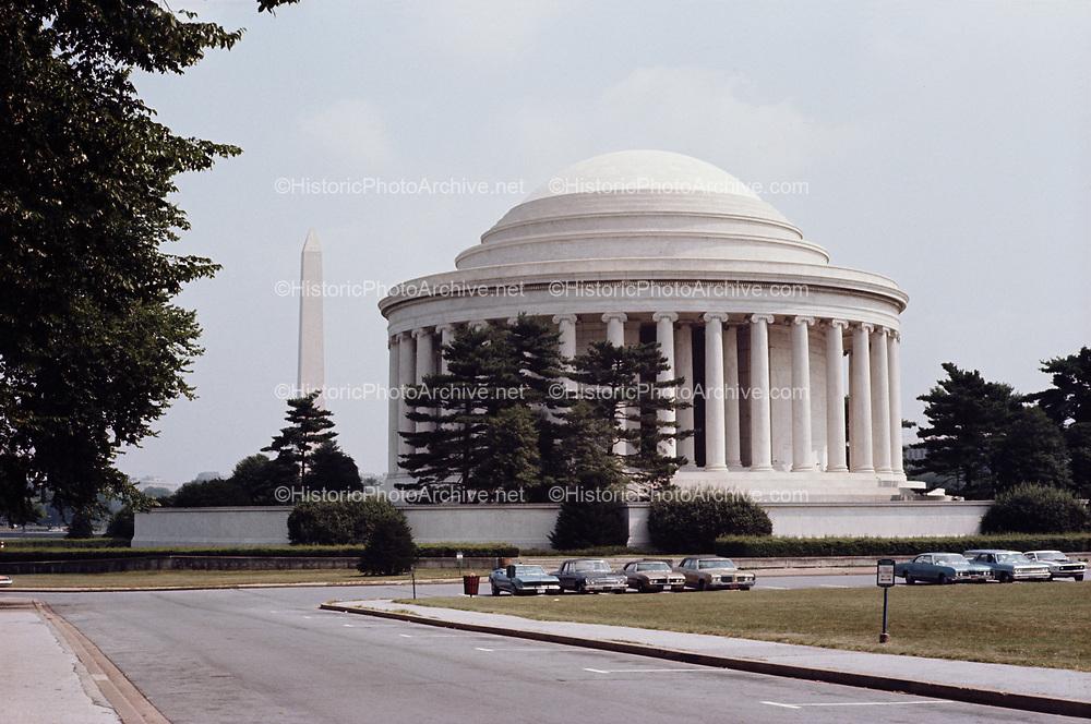 CS-BH40. Jefferson Memorial, Washington DC, July 1969.