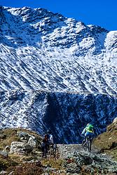 16-09-2017 FRA: BvdGF Tour du Mont Blanc day 7, Beaufort<br /> De laatste etappe waar we starten eindigen we ook weer na een prachtige route langs de Mt. Blanc / Carlos, Xander