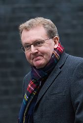 Downing Street, London, February 11th 2016. Scotland Secretary David Mundell attends the weekly cabinet meeting. <br /> ©Paul Davey<br /> FOR LICENCING CONTACT: Paul Davey +44 (0) 7966 016 296 paul@pauldaveycreative.co.uk