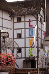 Love season at Shakespeare's Globe, London UK Aug 2017