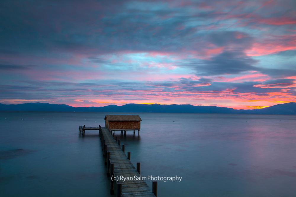 West Shore Pier<br /> Lake Tahoe