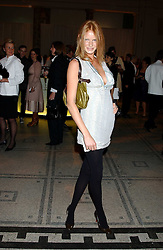 Model OLIVIA INGE at the 2005 British Fashion Awards were held at The V&A museum, London on 10th November 2005.<br /><br />NON EXCLUSIVE - WORLD RIGHTS