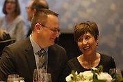 SHOT {date time} - CoBank Board of Directors Holiday Party and dinner at the Ritz-Carlton in Denver, Co. The event included presentations to a number of board members that retired from the board. (Photo by Marc Piscotty © 2018)