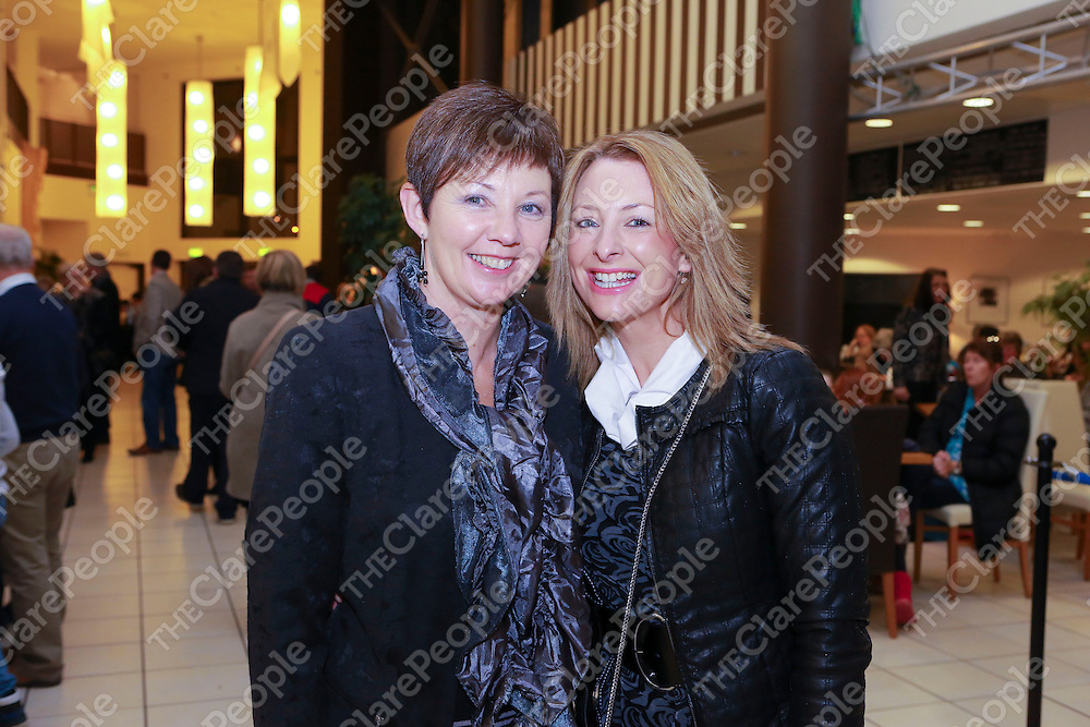 Pictured at the Ennis Musical Society Annie Show in Glor were:<br /> Mary Murphy & Jenny Alderson.<br /> Pictured Credit Brian Gavin Press 22
