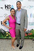 May 14, 2014- Harlem, New York-United States: (L-R) Marcey Clery and Yahonnes Clery attend the Harlem School of the Arts Jump and Wave Benefit held at the Harlem School of the Arts- The Herb Alpert Center on May 18, 2017 in Harlem, New York City. Harlem School of the Arts enriches the lives of young people and their families through world-class training in and exposure to the arts across multiple disciplines in an environment that emphasizes rigorous training, stimulates creativity, builds self-confidence, and adds a dimension of beauty to their lives.(Photo by Terrence Jennings/terrencejennings.com)