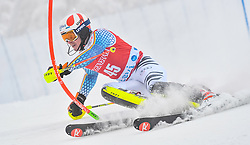 13.11.2016, Black Race Course, Levi, FIN, FIS Weltcup Ski Alpin, Levi, Salalom, Herren, 1. Lauf, im Bild Linus Strasser (GER) // Linus Strasser of Germany in action during 1st run of mens Slalom of FIS ski alpine world cup at the Black Race Course in Levi, Finland on 2016/11/13. EXPA Pictures © 2016, PhotoCredit: EXPA/ Nisse Schmidt<br /> <br /> *****ATTENTION - OUT of SWE*****