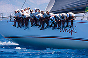 Evniki sailing in the  Corfu Challenge, day four.