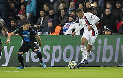 MBAPPE LOTTIN Kylian from PSG In action during the UEFA Champions League Group A football match Paris Saint-Germain (PSG) v Club Brugge at the Parc des Princes stadium in Paris, France, on November 6, 2019. Photo by Loic BaratouxABACAPRESS.COM
