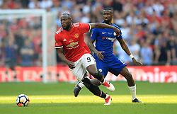 Manchester United's Romelu Lukaku in action