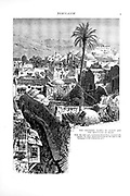 Southern slopes of Olivet and mountains of Moab from the book Picturesque Palestine, Sinai, and Egypt By  Colonel Wilson, Charles William, Sir, 1836-1905. Published in New York by D. Appleton and Company in 1881  with engravings in steel and wood from original Drawings by Harry Fenn and J. D. Woodward Volume 1