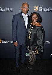 Samuel L Jackson und LaTanya Richardson bei den British Academy Britannia Awards in Beverly Hills / 281016<br /> <br /> *** British Academy Britannia Awards held at Beverly Hilton Hotel, Beverly Hills, USA, October 28, 2016  ***