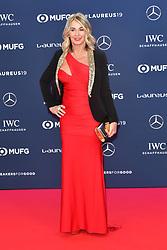February 18, 2019 - Monaco, Monaco - Nadia Comaneci arriving at the 2019 Laureus World Sports Awards on February 18, 2019 in Monaco  (Credit Image: © Famous/Ace Pictures via ZUMA Press)