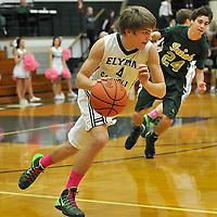2.22.2014 Ursuline at Elyria Catholic Boys Varsity Basketball