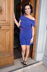 NANCY DELL'OLIO at a party to celebrate the publication of her book 'My Beautiful Game' held at the Italian Embassy, Grosvenor Square, London on 17th April 2008.<br /><br />NON EXCLUSIVE - WORLD RIGHTS