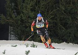 28.12.2013, Veltins Arena, Gelsenkirchen, GER, IBU Biathlon, Biathlon World Team Challenge 2013, im Bild Andreas Brinbacher (Deutschland / Germany) // during the IBU Biathlon World Team Challenge 2013 at the Veltins Arena in Gelsenkirchen, Germany on 2013/12/28. EXPA Pictures © 2013, PhotoCredit: EXPA/ Eibner-Pressefoto/ Schueler<br /> <br /> *****ATTENTION - OUT of GER*****
