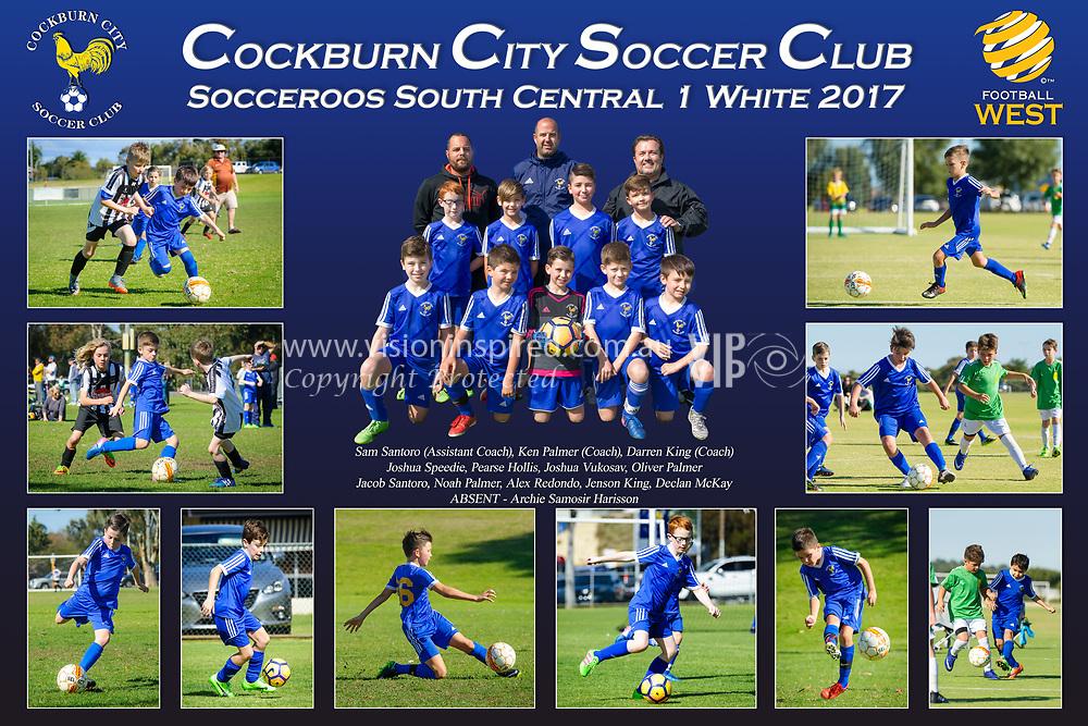 Cockburn City Soccer Club South Central White U9