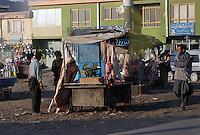 Gatebilde fra Kabul, street picture from Kabul, slakter, butcher