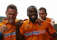 Football - The Championship- Wolverhampton Wanderers v Leicester City - Wolves' Sylvan Ebanks- Blake celebrates scoring the first goal  at Molineux
