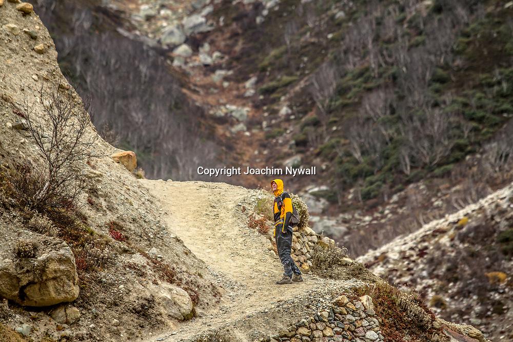 2016 10 10 Gangotri Uttarakhand India<br /> Vandring mellan Gangotri och Gamukh som är Ganges källa Vandringen går längs Bhagirathi som ganges heter här uppe<br /> <br /> ----<br /> FOTO : JOACHIM NYWALL KOD 0708840825_1<br /> COPYRIGHT JOACHIM NYWALL<br /> <br /> ***BETALBILD***<br /> Redovisas till <br /> NYWALL MEDIA AB<br /> Strandgatan 30<br /> 461 31 Trollhättan<br /> Prislista enl BLF , om inget annat avtalas.