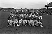 Railway Cup Final Replay, Leinster v Munster, at Croke Park. Leinster Team..14.04.1963