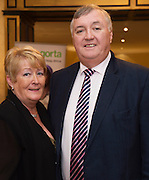 Eileen  and Val Hanley  at the Gorta Self Help Africa Annual Ball in Hotel Meyrick Galway City. Photo: Andrew Downes, XPOSURE.