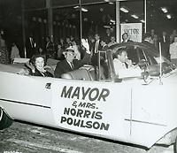 1956 Santa Clause Lane Parade on Hollywood Blvd.