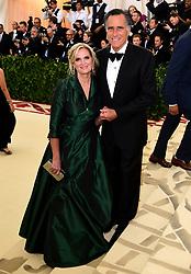 Mitt and Ann Romney attending the Metropolitan Museum of Art Costume Institute Benefit Gala 2018 in New York, USA.