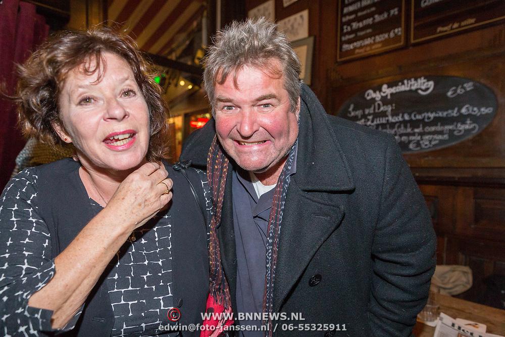 NLD/Amsterdam/20171016 - Sirenen boekpresentatie Jan Cremer, Michiel Romeijn en ..........