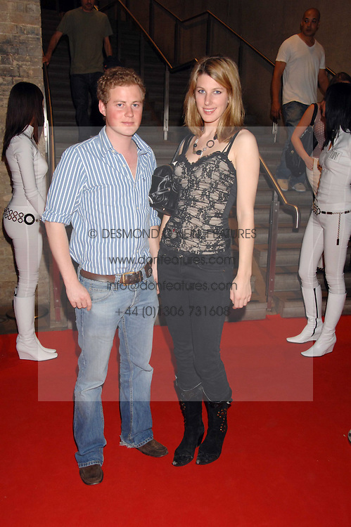 GUY PELLY and SUSANNA WARREN at a party to celebrate the launch of the new Fiat Bravo held at The Roundhouse Theatre, Chalk Farm Road, London on 13th June 2007.<br /><br />NON EXCLUSIVE - WORLD RIGHTS