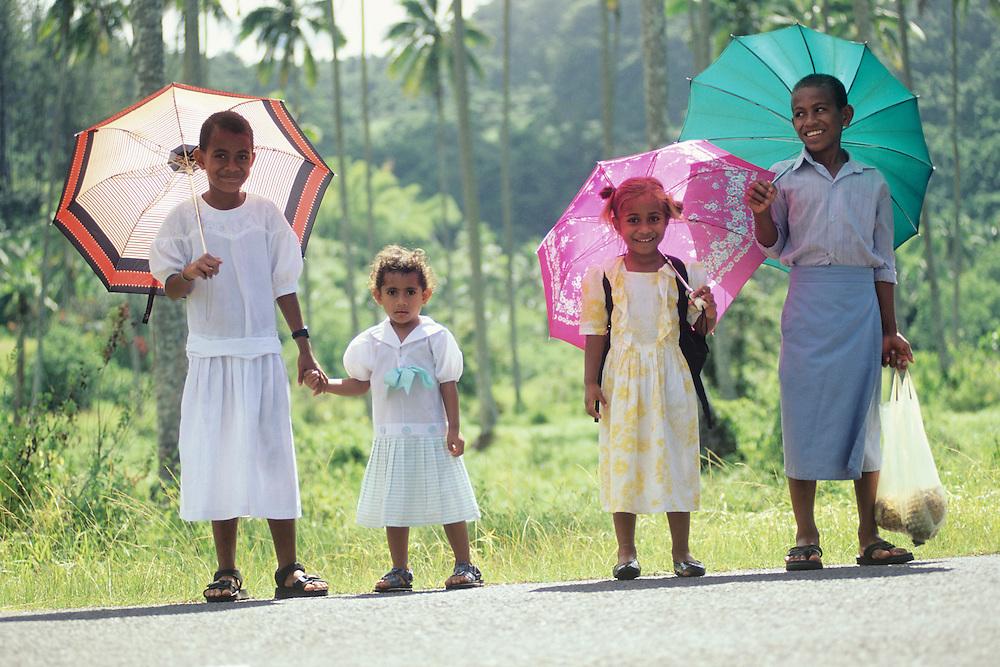 Fiji Islands, Vanua Levu cross island trip