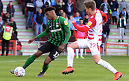 Dujon Sterling controls the ball  during the EFL Sky Bet League 1 match between Doncaster Rovers and Coventry City at the Keepmoat Stadium, Doncaster, England on 4 May 2019.