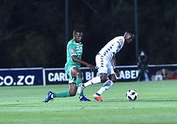 SOUTH AFRICA: GAUTENG: Bidvest Wits player Thabang Monare clash with Bloemfontein Celtic player Ndomiso Mabena during the Absa Premiership at Bidvest Stadium Gauteng. <br />813<br />10.11.2018<br />Picture: Itumeleng English/African News Agency (ANA)